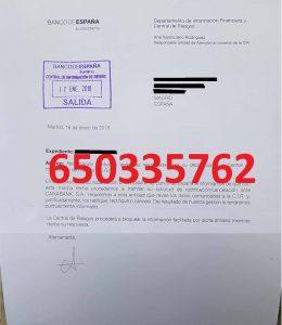 cancelación deudas cirbe caixabank banco españa