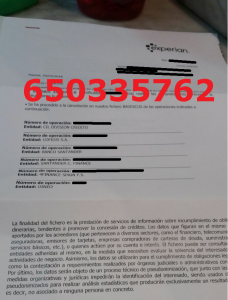diviision credito cofidis santander cuatro finance dineo experian badexcug